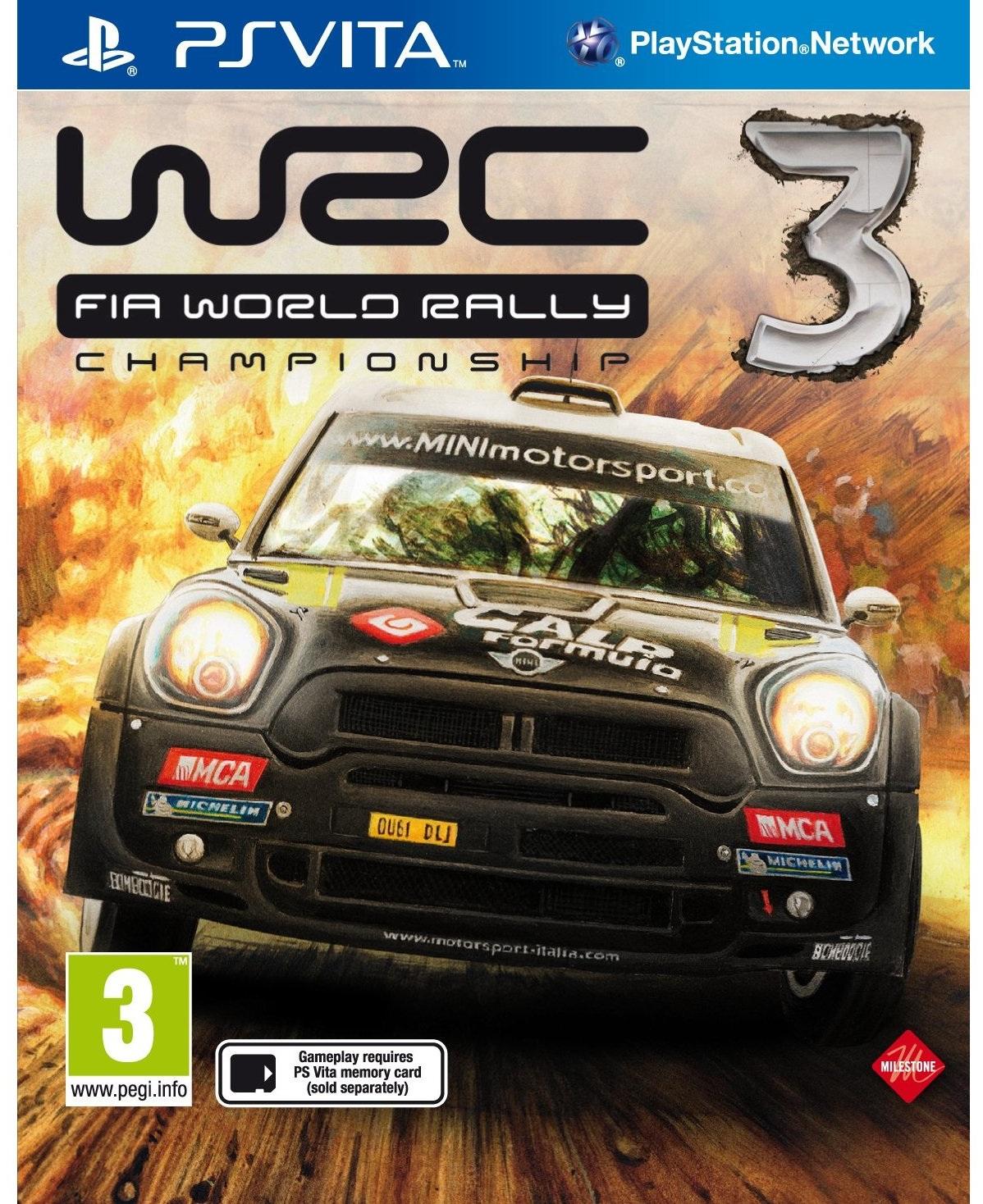 WRC3: World Rally Championship (PS Vita) – Review • GadgetyNews