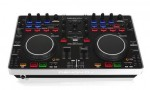 Denon DJ MC2000 digital DJ controller hands in the air review