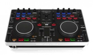 denon dj mc2000 press