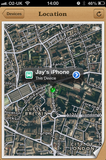 how to find my lost phone using google maps