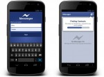Facebook Messenger for Android just needs your name and number for you to chat