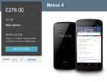 Google Nexus 4 back on sale – Huge wait the other side
