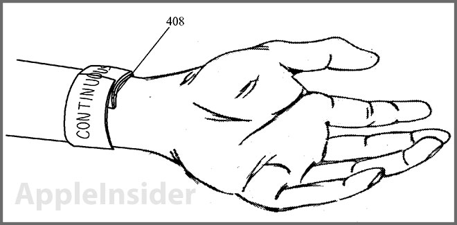 New Apple patent reveals flexible iWatch plans