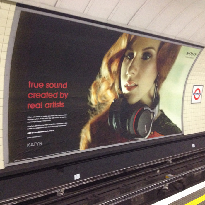 Listening to music on the London Underground can ruin your hearing