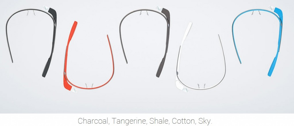 Google glass colours