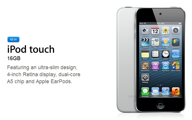 New budget iPod Touch added to Apple Store
