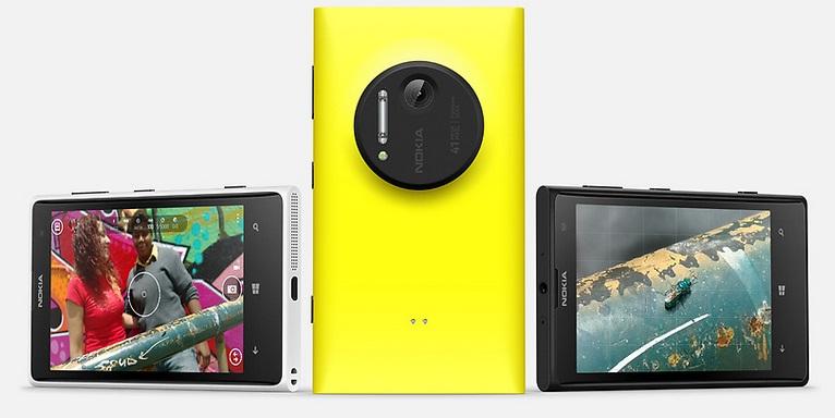 Nokia Lumia 1020 trio