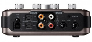 tascam us366 rear