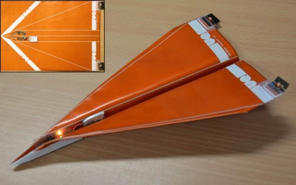 uav paper plane