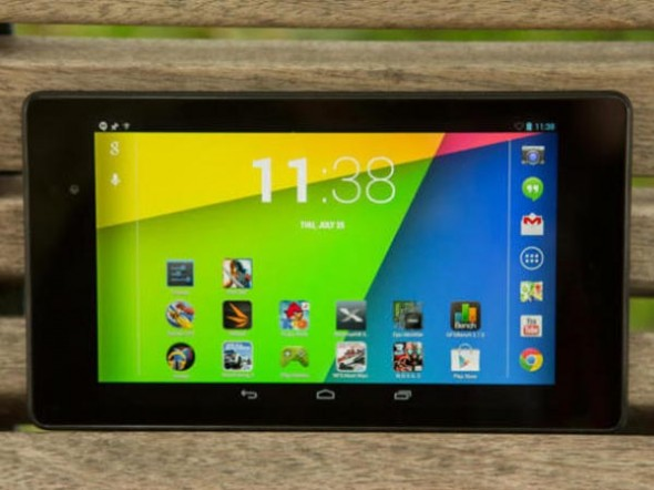... the Google slate has been given a test ride of Android Key Lime Pie