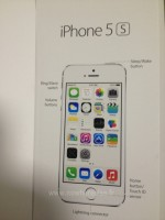 iPhone 5S manual shows Touch ID home button sensor