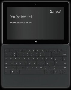 you're invited microsoft surface event
