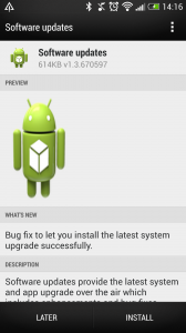 Android update