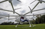 E-Volo VC200 electric copter packs 18 rotors and drone looks