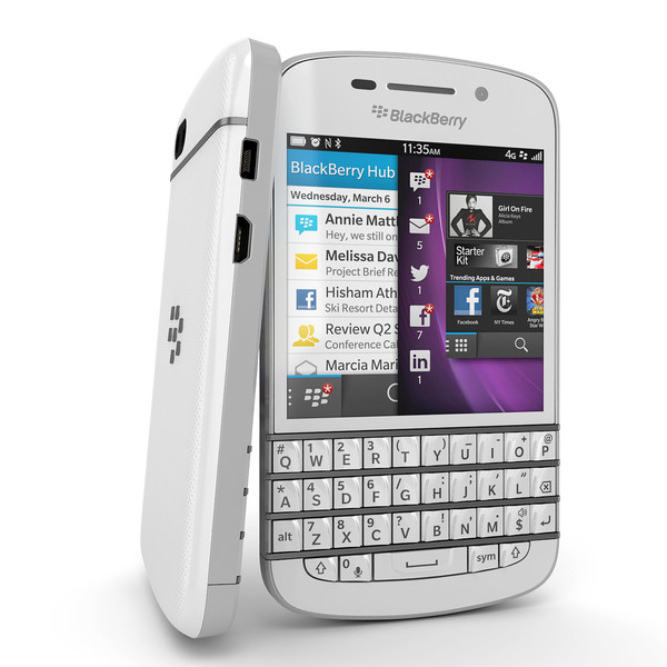 BlackBerry going back to what it's good at