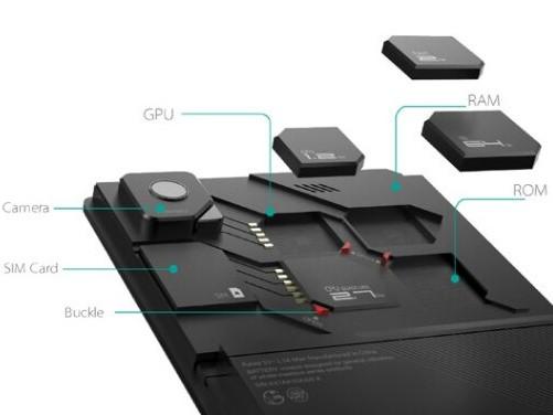 zte modular phone components