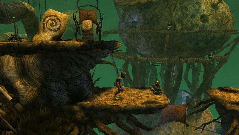 Oddworld New n Tasty ps vita screenshot