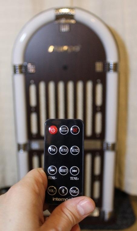 intempo bluetooth jukebox remote
