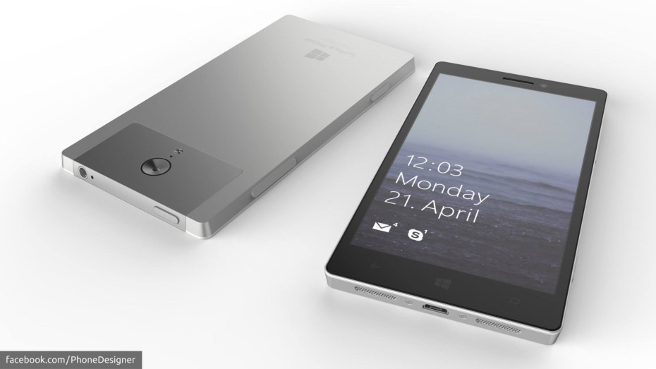 microsoft surface phone wide