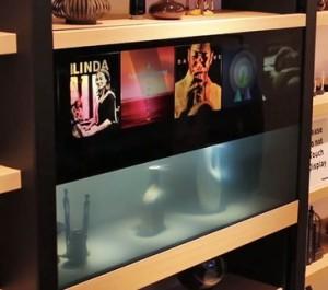 panasonic transparent tv