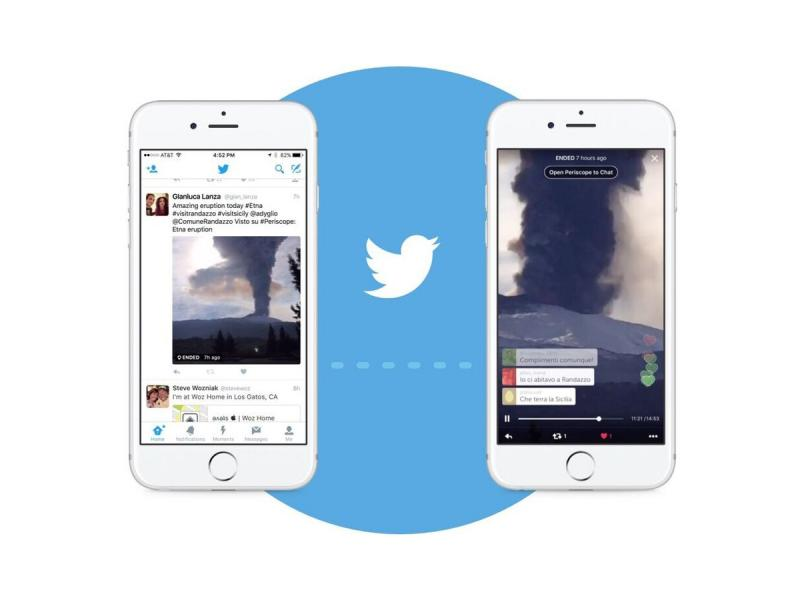 Periscope streams live to Twitter from today