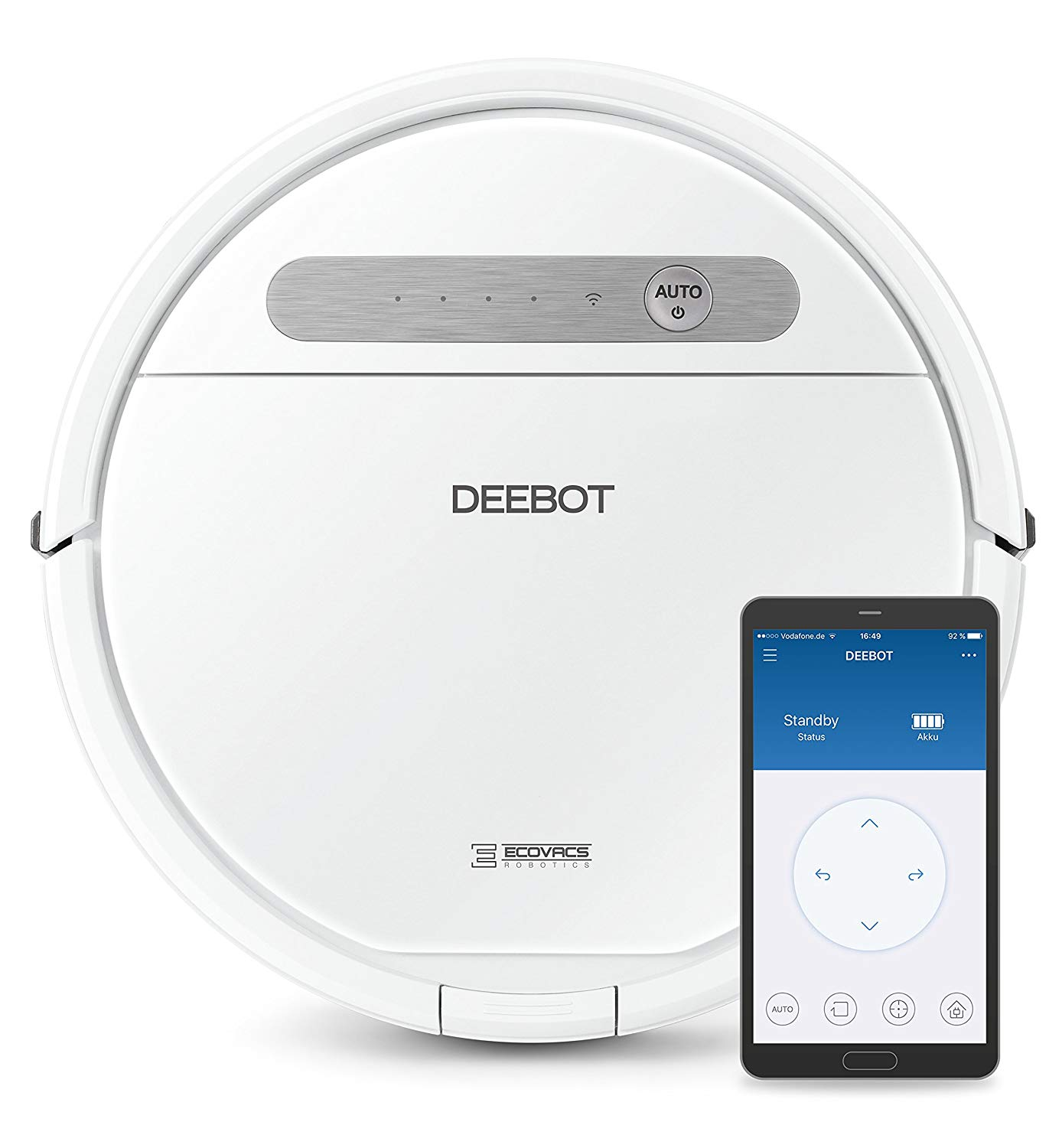 Ecovacs Deebot OZMO 610 vacuum cleaner review