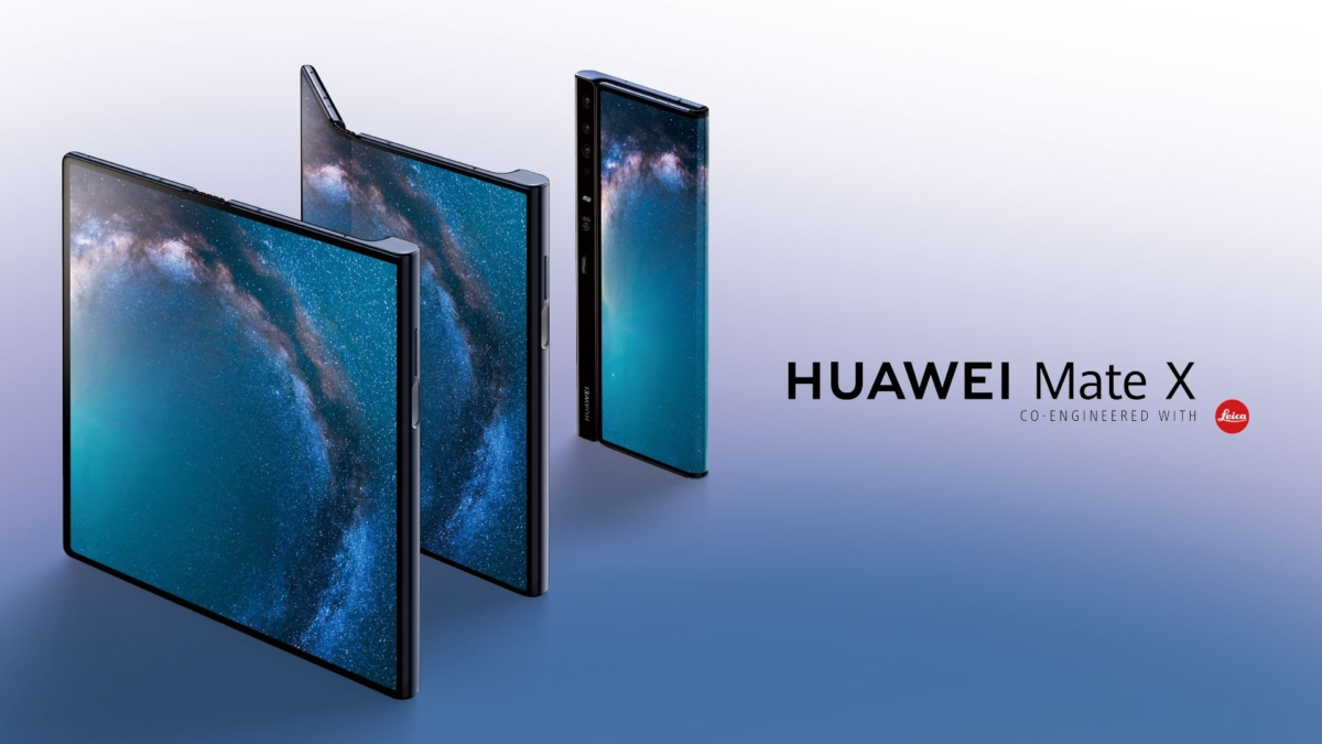 Huawei Mate X Folding Phone Features Falcons