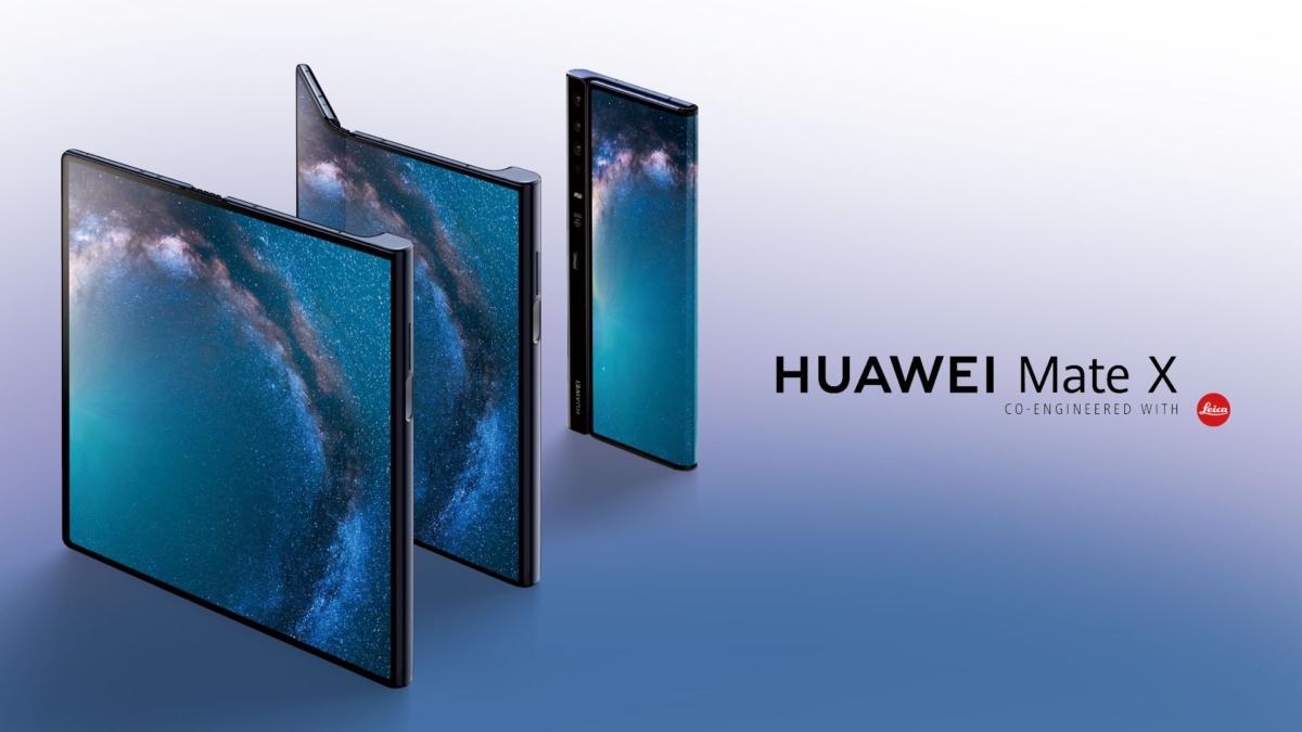Huawei Mate X Folding Phone Features Falcons