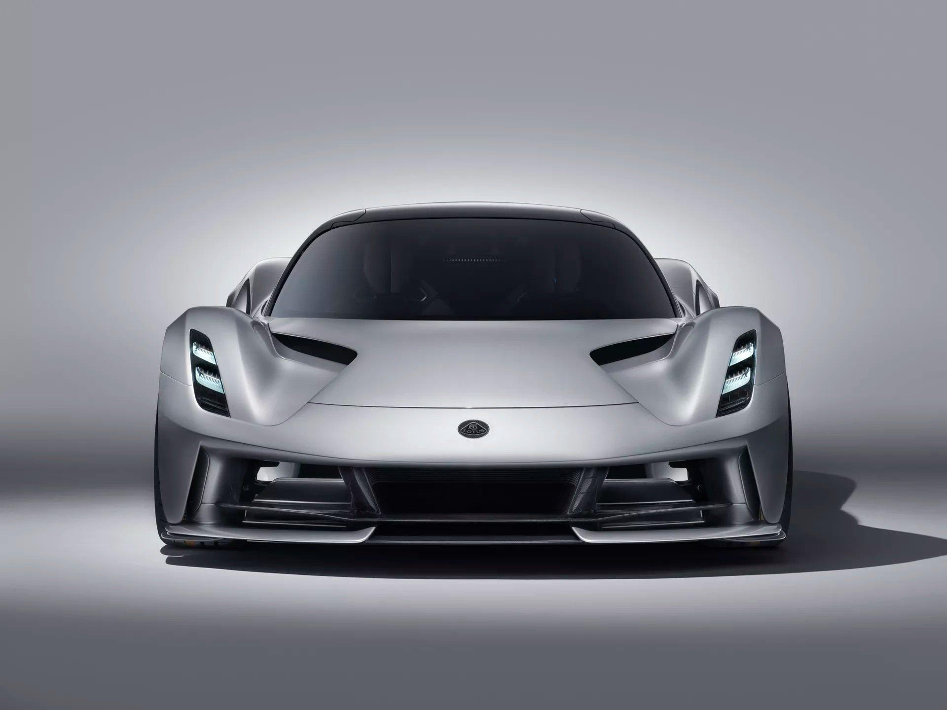Lotus Evija Hypercar Unveiled