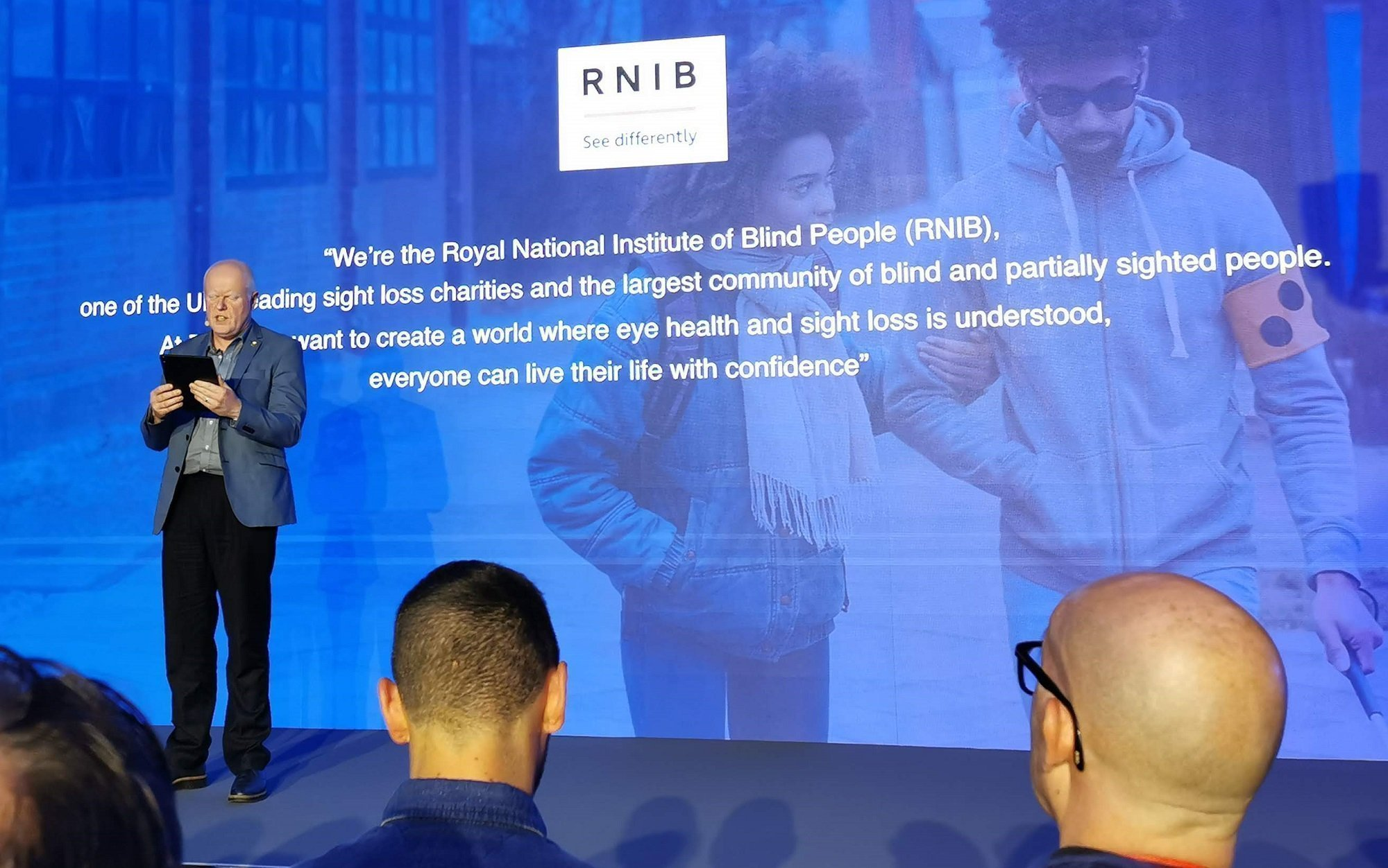 Robin Spinks RNIB IFA 2019