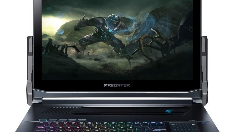 Acer's €4,000 Predator Triton 900 convertible gaming laptop