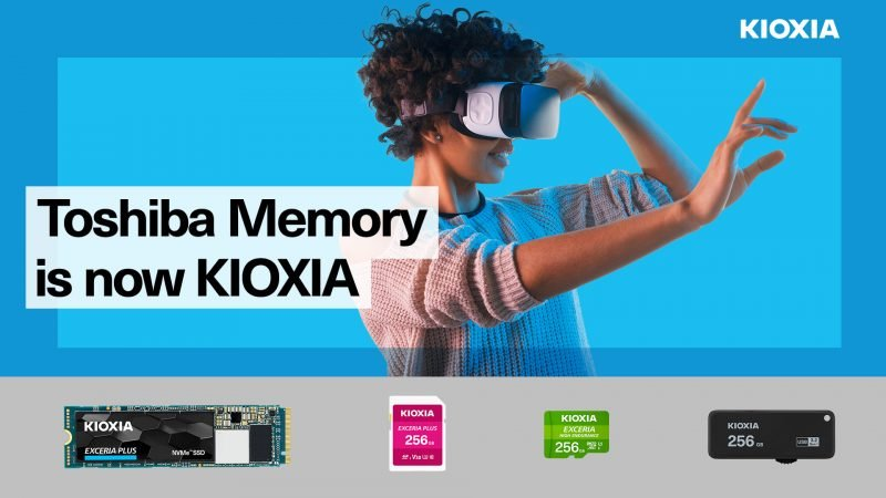 KIOXIA EXCERIA microSD and SD memory cards pack crazy capacity
