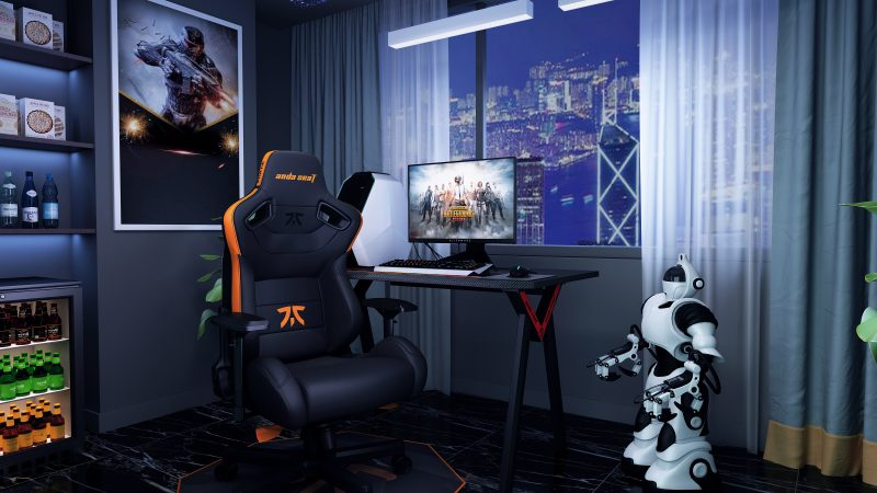 AndaSeat Fnatic Edition Gaming Chair Boasts BWM, Merc Heritage