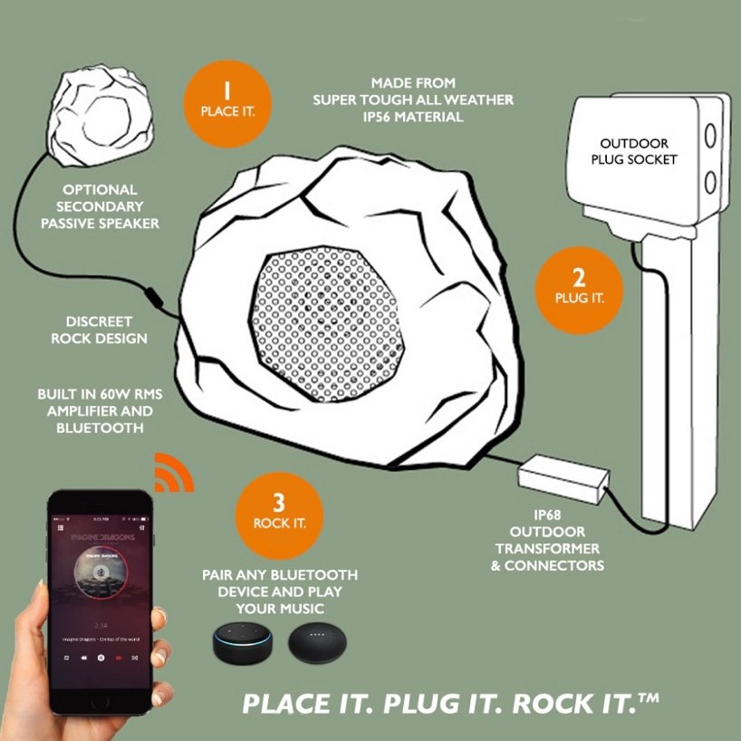 Lithe Rock Bluetooth Speaker