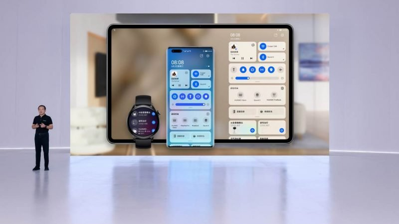 Huawei Launches HarmonyOS 2 with Watch 3 Series and MatePad Pro